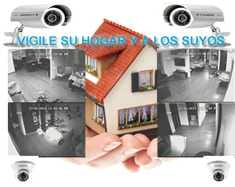 Camaras seguridad casa o apartamento - Seguridad de casas ...